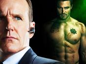Arrow Stephen Amell aimerait faire crossover avec Agents SHIELD