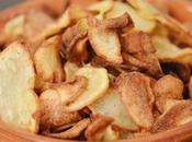Chips épicées maison l'Actifry, sans gluten saines