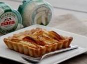 Tartelettes crottin chèvre Rians pommes caramélisées miel Bretagne