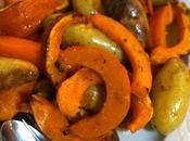 Légumes d'Automne Rôtis four