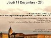 Concert Noël Espagne décembre (gratuit) d'autres concerts dans 12ème,les