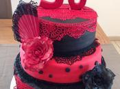 cake design Flamenco