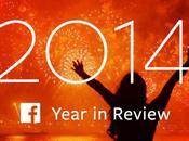 L'année 2014 selon Facebook