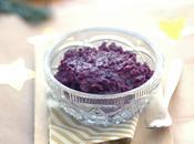 Purée violette gingembre