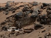 Curiosity asséché donné naissance Mont Sharp