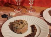 Parmentier topinambour-châtaigne, compotée d'échalotes (Noël 100% durable