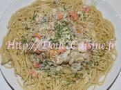 Spaghettis poissons
