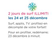 Bouygues Telecom Internet illimité 3G/4G offert Noël