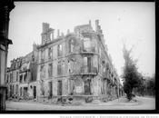 décembre 1914, soir jour, grosses pièces traversent ville, montant Cérès, pour aller prendre position