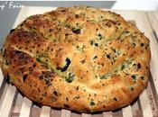 Fougasse oignons-olives