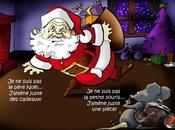 père Noël chaud
