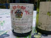 Dîner avec Bruno Avec vins blancs (Viré-Clessé, Riesling Auslese 1992, Tirecul Gravière), entrées, fromages, dessert.