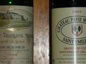 Dîner avec Bruno deux vins pour parmentier canette confite.