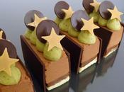 Dessert nouvel chocolat-pistache