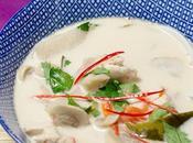 Soupe Thaï poulet coco
