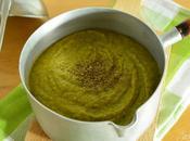 Velouté légumes verts basilic