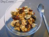 Granola amande cranberrie