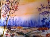 Bessanais André Fernandez participe mondial l'aquarelle