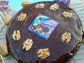 Gâteau noix, milka Oreo nappage choco