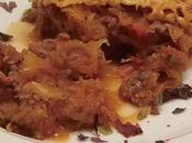 Gratin courgette spaghetti, sauce bolognaise tandoori^^