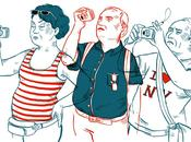 Coup mâchoire coup Trafalgar: photos touristes