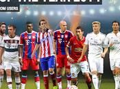 compose l'équipe UEFA 2014