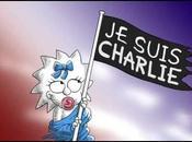 L'hommage Simpson l'attentat contre Charlie Hebdo