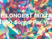 longest mixtape: cadeau Caribou