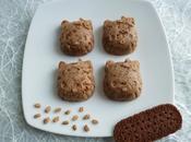 bouchées crues diététiques céréales pomme, biscuits cacaotés psyllium seulement kcal