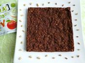gâteau chocolaté pommes avec complet soufflé, céréales psyllium (sans oeufs beurre sucre ajouté)