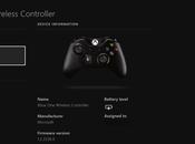 Xbox Nouveau firmware pour manette