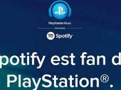 Spotify s'invite plateforme Sony Network Entertainment lance service PlayStation Musique