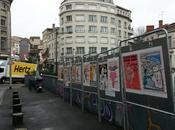 Angoulême unes Charlie Hebdo panneaux électoraux