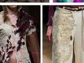 Antonio Ortega. Couturier vision couture évolue comme tableau.