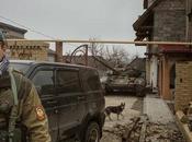 Village village, combattants Donetsk progressent Ukraine