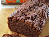 cake végétal chocolat noir praliné