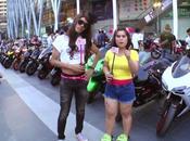 Bangkok motorbike festivals 2015 Jolie Hunter [HD]