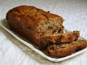 "Cake banane ""santé"" Banana Honey Bran Bread"