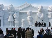sculptures géantes Sapporo Snow Festival 2015