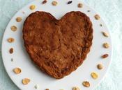 coeur moelleux diététique sans gluten cacaoté muesli avec pomme raisin coco (sans beurre lait oeuf sucre ajouté)