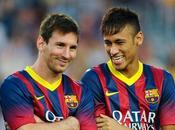 statistiques folie Neymar, Lionel Messi Luis Suarez Barcelone