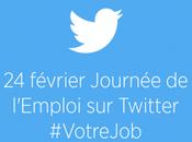 Twitter organise journée l'emploi février!