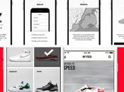 adidas Nike lancent applications dédiées sneakers