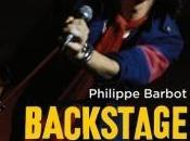 Backstage dans coulisses stars musique