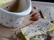 Terrine foie gras canard mi-cuit noix pecan