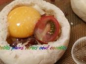 Petits Pains Farcis Oeuf Cocotte thermomix