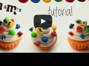 Cupcakes smarties pâte polymère