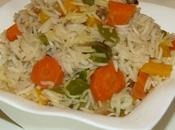 pilaf petits légumes