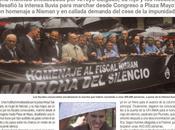 Marche silencieuse sous pluie après mort juge Nisman [Actu]