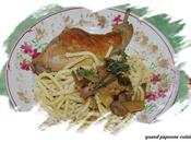 Lapin sauce cepes
